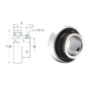 17 mm x 40 mm x 22 mm  FYH SB203 deep groove ball bearings